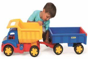Gigant Truck Wywrotka firmy Wader